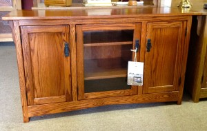 Tv stands amish traditions wv mission 2 door media center with glass door 83900 shaker tv cabinet planetlyrics Images