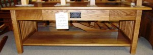 Mission Lg. Coffee Table w/ Drawer