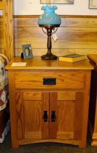 Mission 1 Drawer 2 Door Night Stand - $399.00