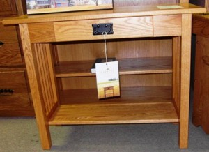 Mission 1 Drawer Console Table