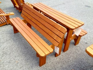 Pine Picnic Tables