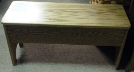 3 Flip Top Bench Amish Traditions Wv