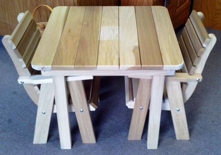 Poplar Child's Table