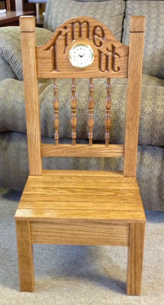 Time Out Chair Amish Traditions Wv