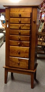 "48"" Shaker Jewelry Armoire 8 Drawers - Maple - $1,269.00"