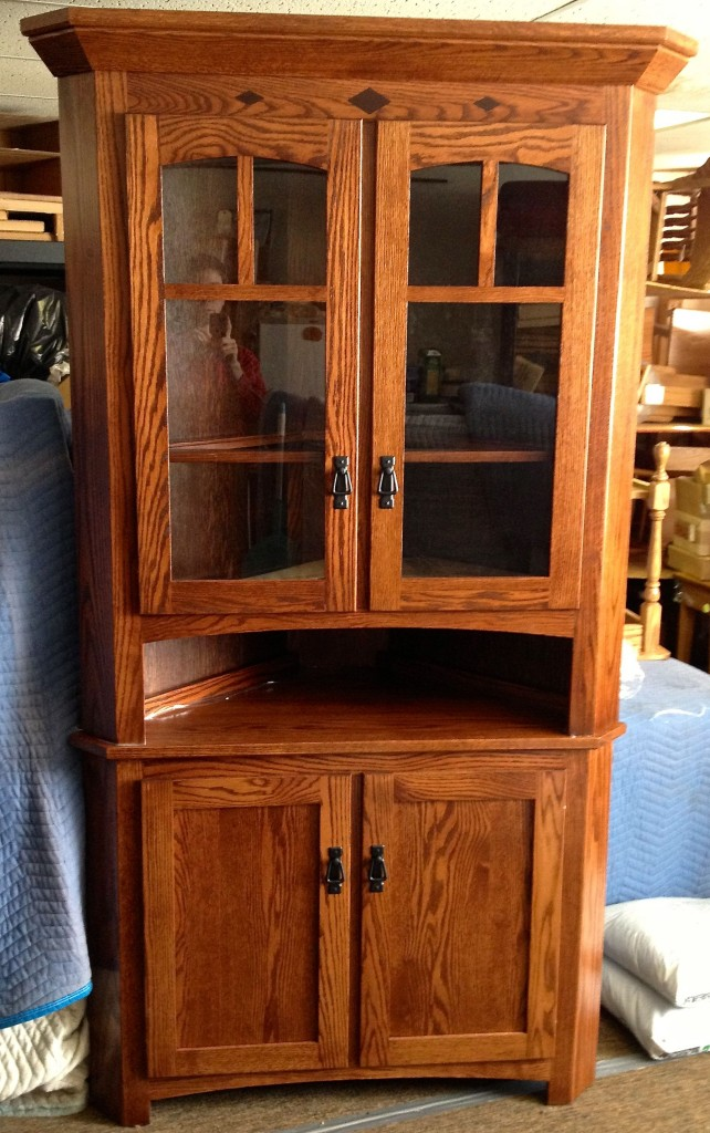 30 Mission Corner Hutch Amish Traditions Wv