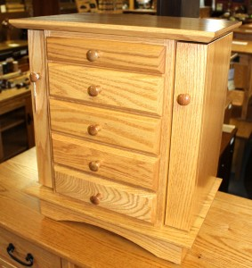 "20"" Shaker Dresser Top Jewelry Armoire - $429.00"