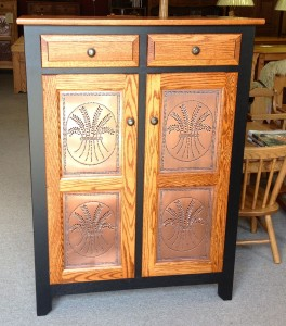 Pie Safe, Two Tone with Copper - $889.00