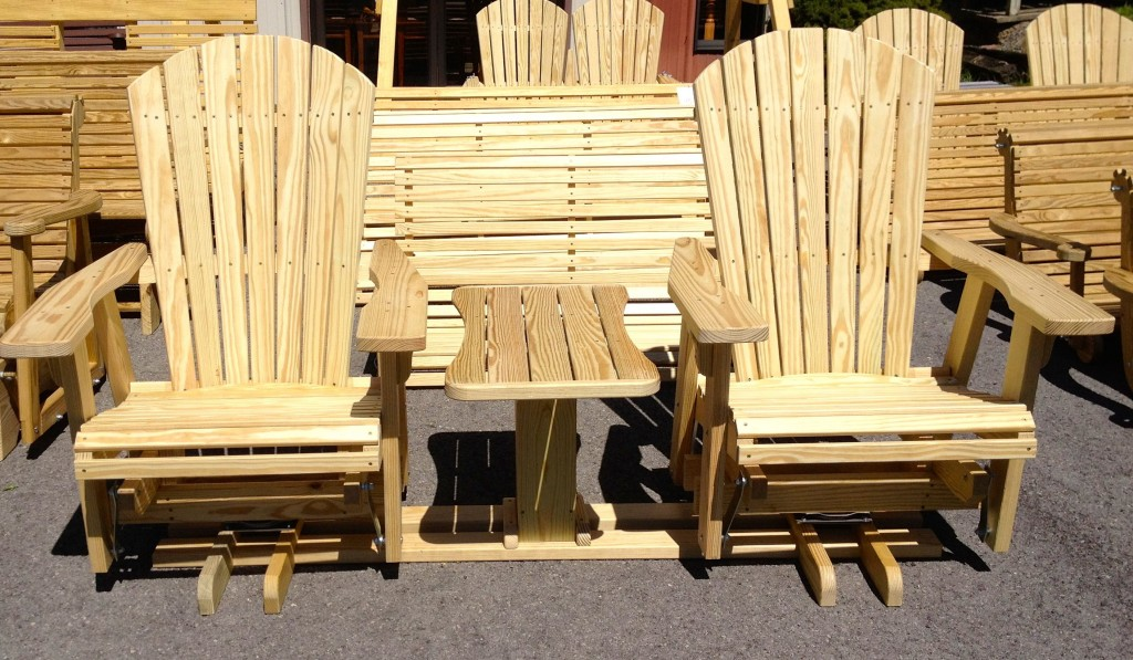 Log Benches Handcrafted besides Wooden Glider Hobby Horse besides Wood Ideas in addition Bed Frame Valencia also Home Theater Seating Edmonton. on amish wooden rocking chairs