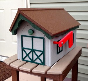 Poly Mailbox - $99.00