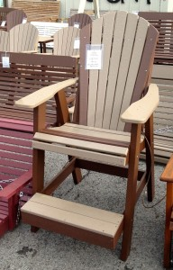 Poly Adirondack Balcony Chair - $339.00