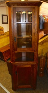 Small 20″ Mission Corner Hutch – $699.00