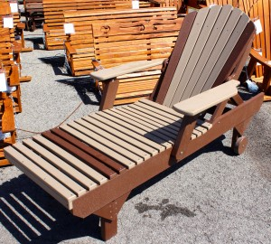 Poly Adirondack Chaise Lounge - $479.00