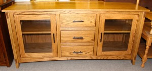 """Mission 62"""" TV Console with Drawers - $819.00"""