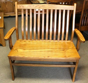 "Lincoln 36"" Bench with Arms - $359.00"