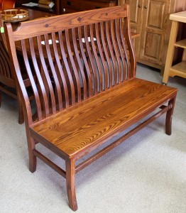 Mission 4' Bench - $419.00