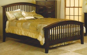 Amish Cambrai Queen Mission Bed - $1,119.00