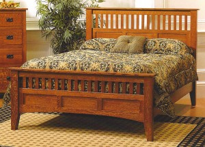 Amish Siesta Mission Queen Bed - $1,079.00