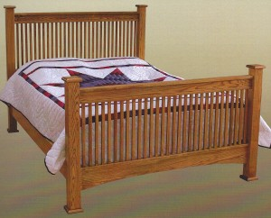 Amish Troyer Ridge Mission Queen Bed - $1,089.00