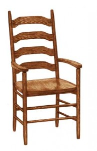 Colonial Ladder Back Arm Chair - $229.00