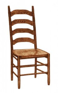 Colonial Ladder Back Side Chair - $199.00