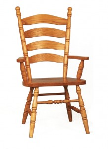 Colonial Ladderback Arm Chair - $209.00