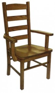 Mission Ladder Back Arm Chair - $229.00