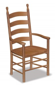 Shaker Ladder Back Arm Chair - $229.00