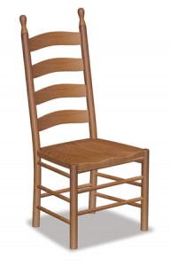 Shaker Ladder Back Side Chair - $199.00