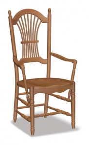 Sheaf Back Arm Chair - $229.00
