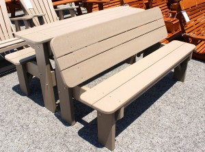 Poly 5' Table Bench - $439.00 Per Bench