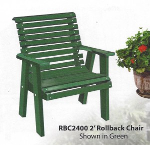 Poly Rollback Chair - $249.00
