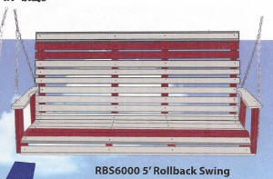 Poly 5' Rollback Swing - $439.00