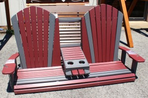 Poly 5′ Adirondack Swing with Fold Down – $599.00