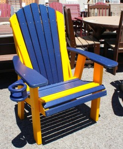 Adirondack 2' Chair with Cupholder - $269.00
