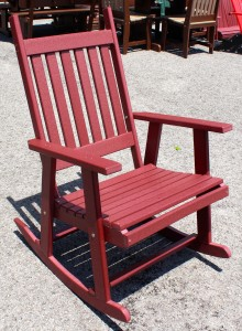 Poly Mission Rocking Chair - $279.00