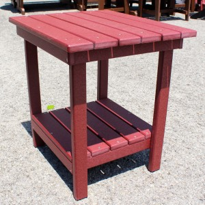 Poly End Table - $119.00