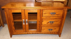 Mission 48″ TV Console with Drawers - $719.00
