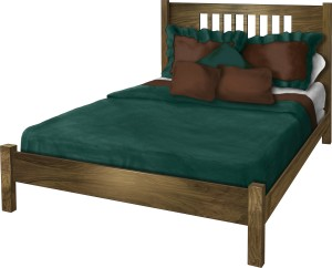 New Mission Queen Bed - $769.00