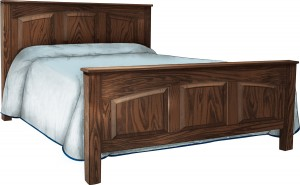 Arched Shaker Bed - $939.00