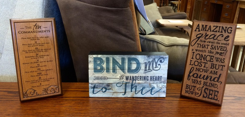 Amish Home Decor and Accessories In Stock!