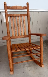 Old Time Rocker - $199.00 Stained, $179.00 Unfinished
