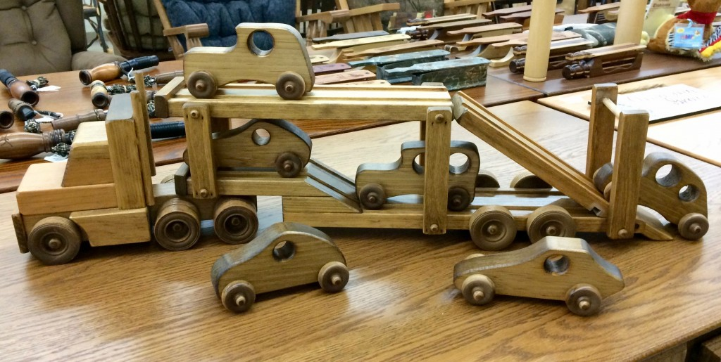 New for 2015! Large Selection of Amish Wooden Toys!