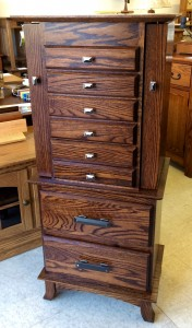 48″ Split Shaker Jewelry Armoire - $859.00