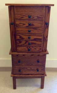 48″ Split Mission Jewelry Armoire - $829.00
