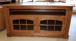 Deluxe 56″ TV Stand with Open VCR - $739.00