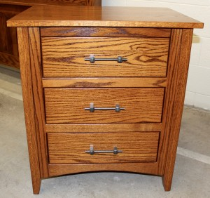 Modern Mission Night Stand with Jewelry Pullout - $539.00