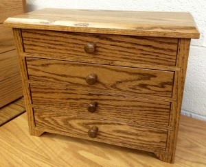4 Drawer Shaker Jewelry Chest - $159.00