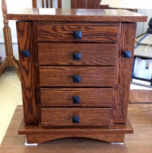 20″ Shaker Dresser Top Jewelry Armoire - $429.00