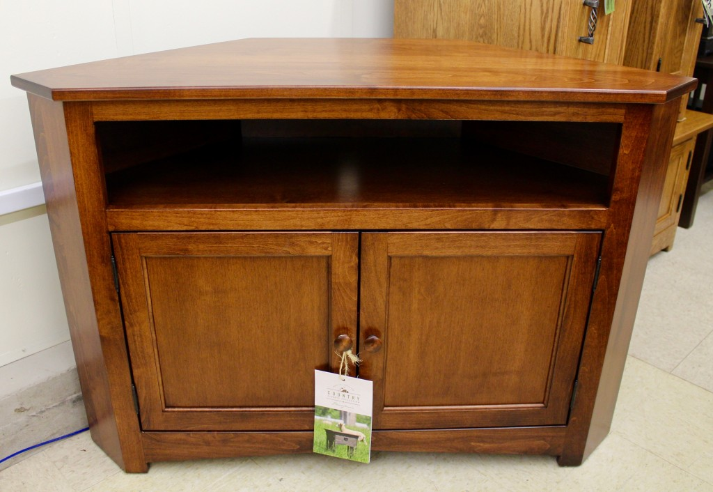 Mission Corner Tv Stand Amish Traditions Wv